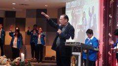 Pdt. Dr.Japarlin Marbun(Ketua Umum BPH Sinode GBI) DI ACARA NATAL 2014